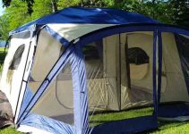 cabin tent with screen porch