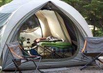 tent camp comfortable