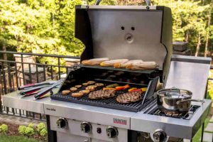CHAR BROIL SIGNATURE TRU INFRARED 4 BURNER